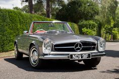 """Just [i]look at it[/i]. It was designed by Paul Bracq (he who also penned [i]GQ[/i]'s [link url=""""http://www.gq-magazine.co.uk/gallery/mercedes-w108-fashion-week""""]Savile Row Mercedes W108[/link]) and it captured the essence of Sixties glamour. You could buy one with a 2.3, 2.5 or 2.8-litre six-cylinder engine, and while it was relatively fleet-footed in its day, this wasn't a car for track days – this was a car to be seen in. Mercedes is yet to build a more beautiful cabrio."""