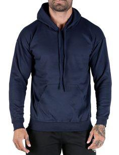 Mens Hooded Sweatshirt Plain Hoodie Blank Pullover Hoody Cotton 100 new Hoodie Sweatshirts, Hoody, Plain Hoodies, Active Wear, Winter Jackets, Casual, Jumper, Sweaters, Template