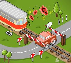 Split second! Looks kind of bad right now...well... Isometric vector graphic by Sarahs Safari Illustration. Check out www.sarahs-safari.com to find more of this stuff!