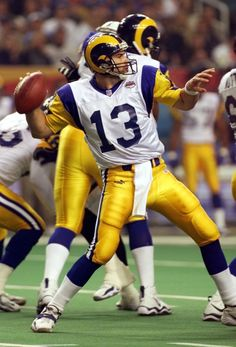 Kurt Warner  My second favorite Rams QB of all time
