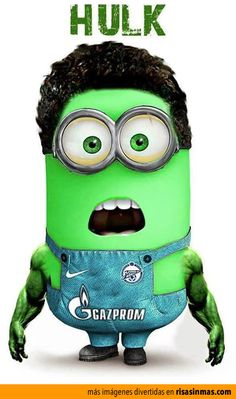 *HULK MINION ~ Despicable Me II, 2013