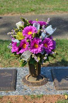 Floral Cemetery Arrangements for vases.