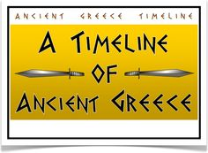 A Timeline of Ancient Greece - Treetop Displays - A set of 10 A4 posters showing a timeline of ancient Greece. Posters show the key events that took place during the time of the ancient Greeks. A visual and informative set that will prove to be an excellent aid for children. Visit our website for more information and for other printable resources by clicking on the provided links. Designed by teachers for Early Years (EYFS), Key Stage 1 (KS1) and Key Stage 2 (KS2).