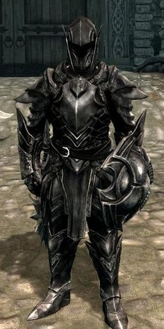 Skyrim - Ebony Armour