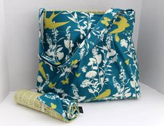 Hey, I found this really awesome Etsy listing at https://www.etsy.com/listing/162901765/monterey-diaper-bag-set-large-swallow