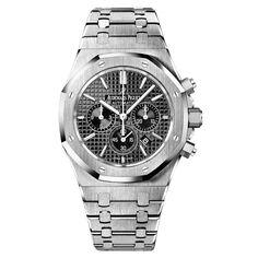 #AudemarsPiguet Royal Oak Chronograph Stainless Steel #Watch