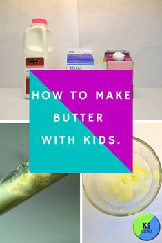 The Science of Butter: A Fun Activity for Kids Kindergarten Science Activities, Fun Activities For Kids, Science Classroom, Autumn Activities, Food Science Experiments, Science Lessons, Science Projects, Chemistry For Kids, Fourth Grade Science
