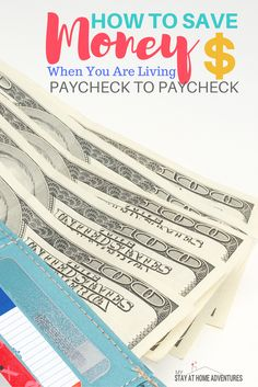 The excuse that you don't make enough to save money was so yesterday! Learn how to save money when living paycheck to paycheck with these tricks.