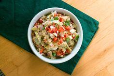Salad Recipes : Greek Quinoa Salad Recipe