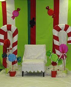 santa pictures backdrop - Google Search