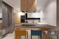 Apartment in Minsk by I-project