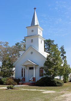 Goshen United Methodist Church, Rincon, GA.  Since 1820.
