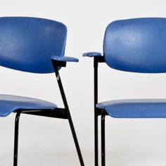 Pair of chairs, Willy Van der Meeren @ Jean Stuyvaert