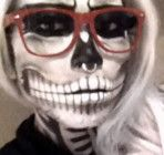 How To Do A Zombie Skeleton Makeup For Halloween-Free Video Tutorial