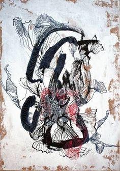"Saatchi Art Artist Marijah Bac Cam; Drawing, ""Wildflower"" #art"