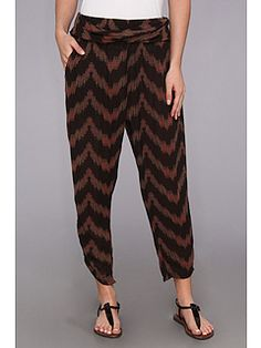 Free People Printed Twisted Ikat Pant  OUTLAWS