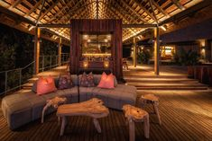 ituated in a private concession in the Okavango Delta, Botswana, Chitabe Camp offers an abundance of game-viewing opportunities and exclusive tented accommodation. Delta Del Okavango, Bar Areas, Lodges, Places To Travel, Safari, Wildlife, Deck, Camping, Patio
