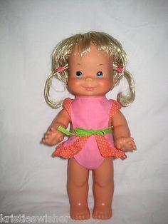 Vintage 1978 Ideal Toys Whoopsie Doll Blond Hair Pigtails Original Outfit | eBay