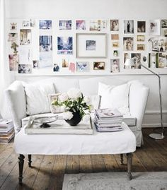 perhaps the perfect inspiration for my own gallery wall. the next project...