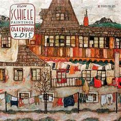 ... > Artists A-Z > Schiele >Egon Schiele Paintings 2015 Wall Calendar