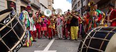 Les fan far de Perpiñan y Millau tocan con La Tambórica de Carrica