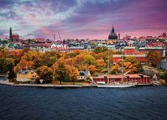 Stockholm, Sweden - Johner Images/Getty Images. Sweden  Järvafältet , Drottningholm, Grimsta and of course Stockholm are some recommended places in Sweden to view a beautiful fall.  (Pictured) Stockholm