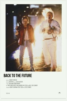 Back to the future Iconic Movie Posters, Iconic Movies, Film Posters, Polaroid, Film Poster Design, Cartoon Books, Movie Prints, The Best Films, Alternative Movie Posters