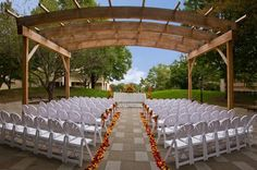 A great gazebo for an outdoor ceremony at West Belmont Place. {West Belmont Place}