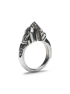Kryptonite pinky Ring. via The Cools