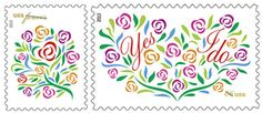 U.S. Postal Service launches spring wedding stamps