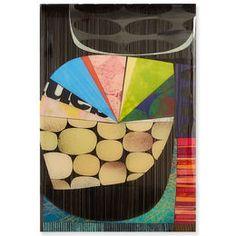 "Rex Ray - Rex Ray ""16 x 24 Artwork"" Original Mixed Media Collage"