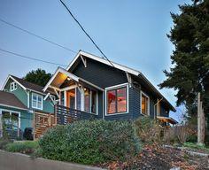 Zerbey Seattle Remodel - Modern - Exterior - seattle - by Studio Zerbey Architecture + Design