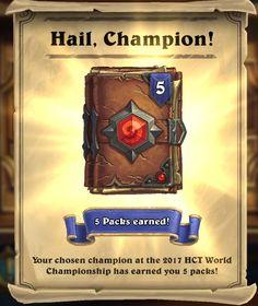 HAIL, CHAMPION!