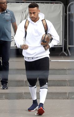 Neymar in the Balenciaga Speed Knit Sneakers Neymar Memes, Neymar Psg, Neymar Girlfriend, Neymar Jr Wallpapers, Neymar Barcelona, Messi, Celebrity Sneakers, Neymar Football, Soccer Girl Problems