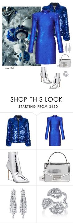 """Blue Christmas"" by eva-kouliaridou ❤ liked on Polyvore featuring MSGM, Miss Selfridge, ALDO and Tory Burch"