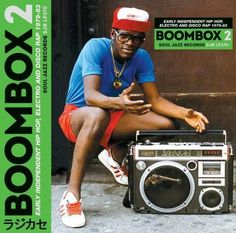 Boombox 2: Early Independent Hip Hop, Electro and Disco Rap 1979-83 [LP] - Vinyl