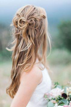 #weddingpretty  Photography: Pinkerton Photography - www.pinkertonphoto.com/. Phoenix, Arizona wedding photographers, Pinkerton photography Half Up Wedding, Wedding Hairstyles Half Up Half Down, Girly Hairstyles, Twist Hairstyles, Fashion Hairstyles, Blond, Belle Hairstyle, Head Band, Wedding Hair Inspiration
