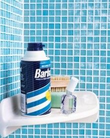 Nail Polish as Rust Preventer Coat the bottom of a shaving-cream can to fend off rust rings on the ledge of the tub.