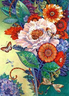 the mixed bouquet - David Galchutt