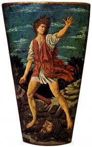 Artist: Castagno Title: David with the Head of Goliath