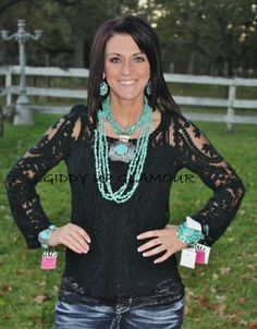 Lovers Forever Black Lace Top  $34.95  http://www.giddyupglamouronline.com/catalog.php?item=6573