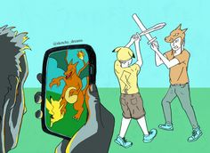#lastnightidreamed that #pokemongo came out with a feature that transformed live-action #LARP into a virtual high-def #pokemon fight