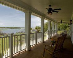bay view porch.