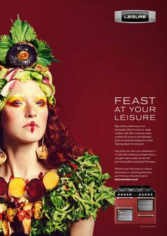 Feast at your leisure. Advertising Agency: TBWALondon, UK Executive Creative Director: Jeremy Carr Creative Director: Simon Morris Creatives: C
