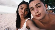 James Reid Height, Weight, Age, Body Statistics are here. His height is m and weight is 66 kg. See his all girlfriends' names and entire biography. Couple Goals Teenagers, Cute Couples Goals, Nadine Lustre Instagram, James Reid Wallpaper, Feed Goals, Summer Songs, Australian Actors, Cute Relationship Goals, Hair Color For Black Hair