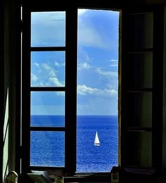 Window View, Open Window, Beautiful World, Beautiful Places, Looking Out The Window, Through The Window, To Infinity And Beyond, Belle Photo, Windows And Doors