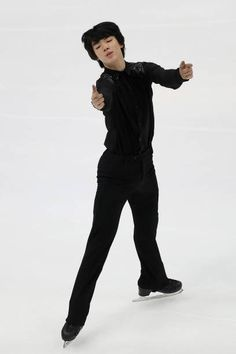 Junhwan Cha of South Korea skates in the Men's Short Program during the ISU Four Continents Figure Skating Championships on February 07 2019 at Honda. Ice Rink, Skates, Figure Skating, Continents, South Korea, Athletes, The Man, Honda, February