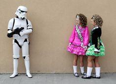 Irish dance encounters Star Wars!  (Star Wars convention in the same hotel as the CRN 2012 Irish Open).