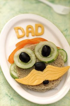 Moustache sandwich by Smita @ Little Food Junction, Father's Day