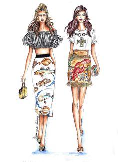Tendenze moda| Primavera-Estate 2017: Sotto il segno dei pesci | http://www.theglampepper.com/2017/09/06/tendenze-moda-primavera-estate-2017-segno-dei-pesci/